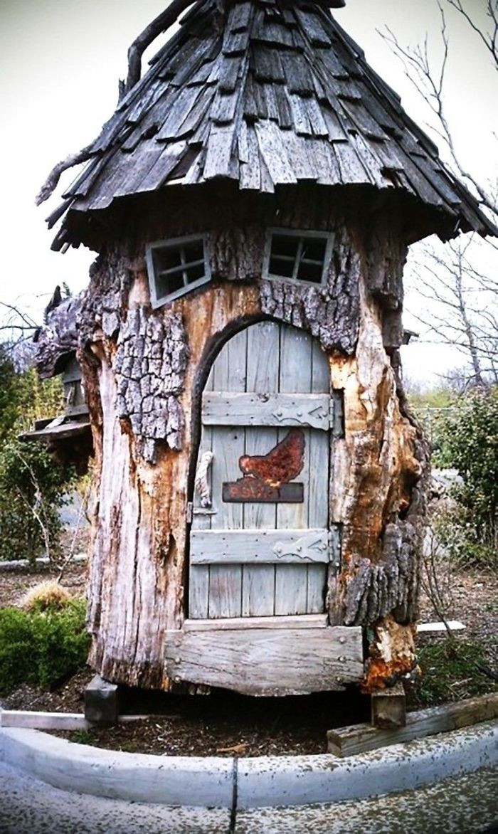 30. A house in a tree