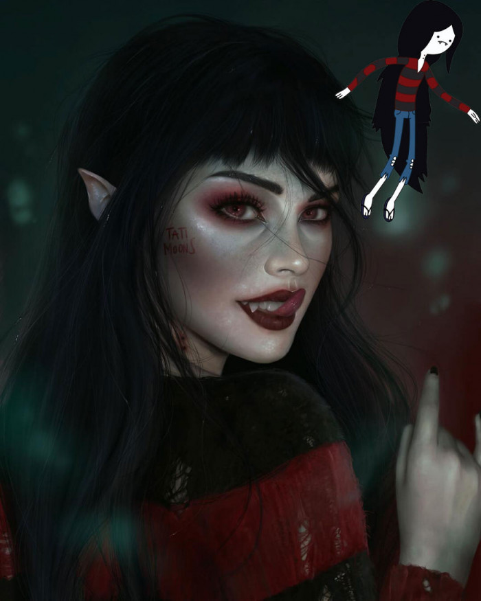 1. Marceline From Adventure Time