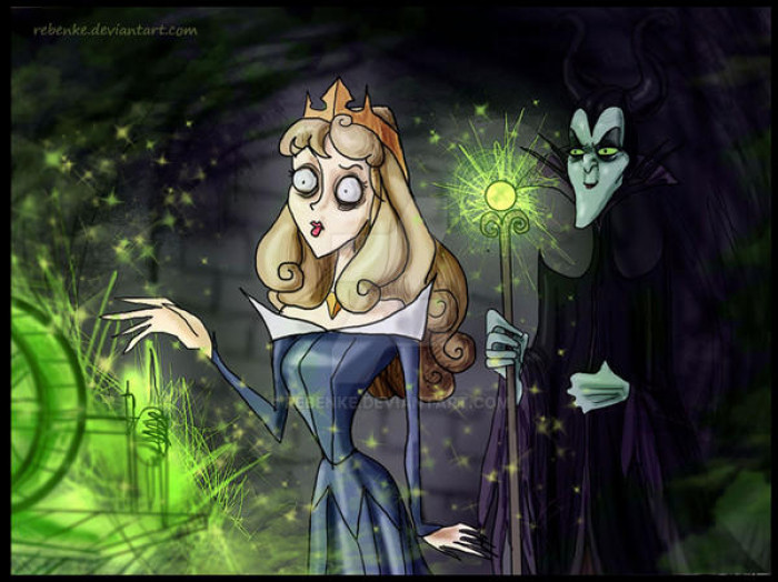 1. Princess Aurora & Maleficent / Sleeping Beauty