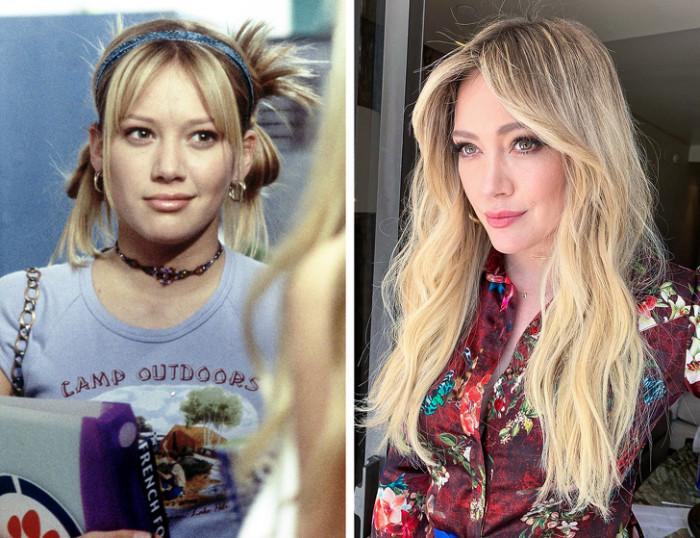 #15 Hilary Duff — Lizzie McGuire
