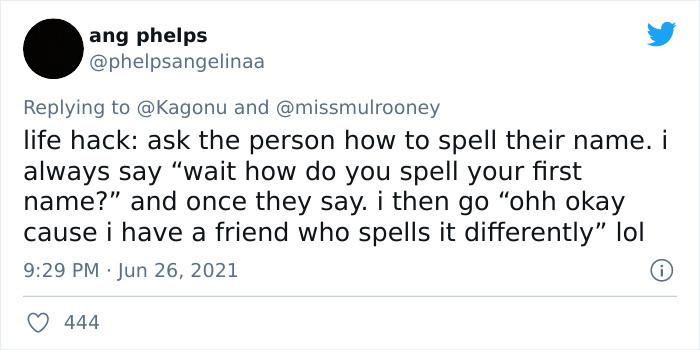 3. Spell it...