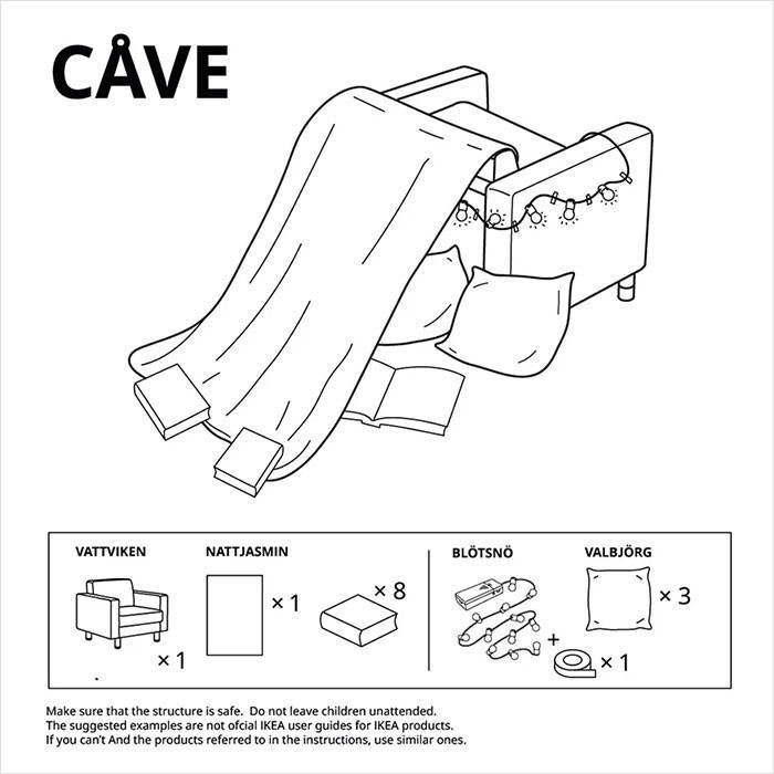 6. The isolation Cave.