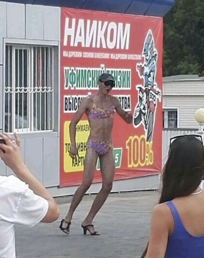 Things that only happen in Russia!