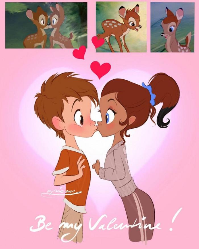 19. Faline & Bambi