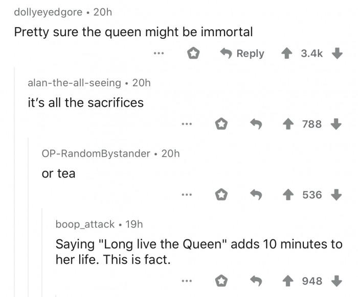 13. It's probably tea