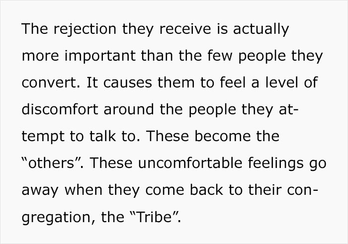 3/8 - rejection discomfort