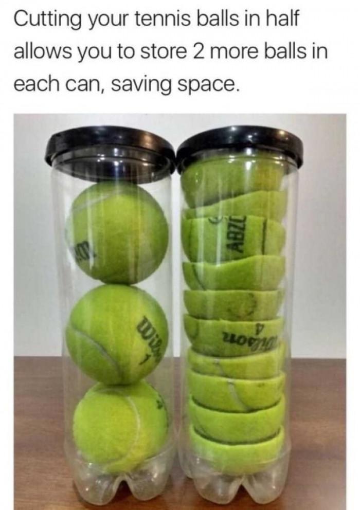 Efficient storage method: