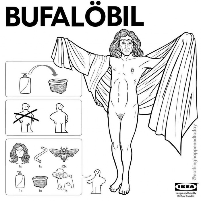 12. Buffalo Bill. About thaaaat...