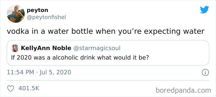 ... a drink