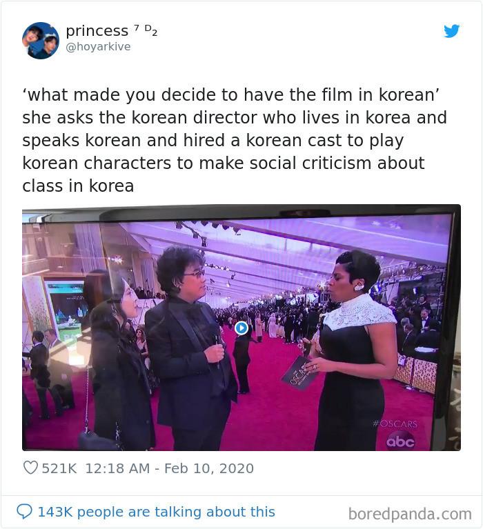 31. Truly, a Korean mystery.
