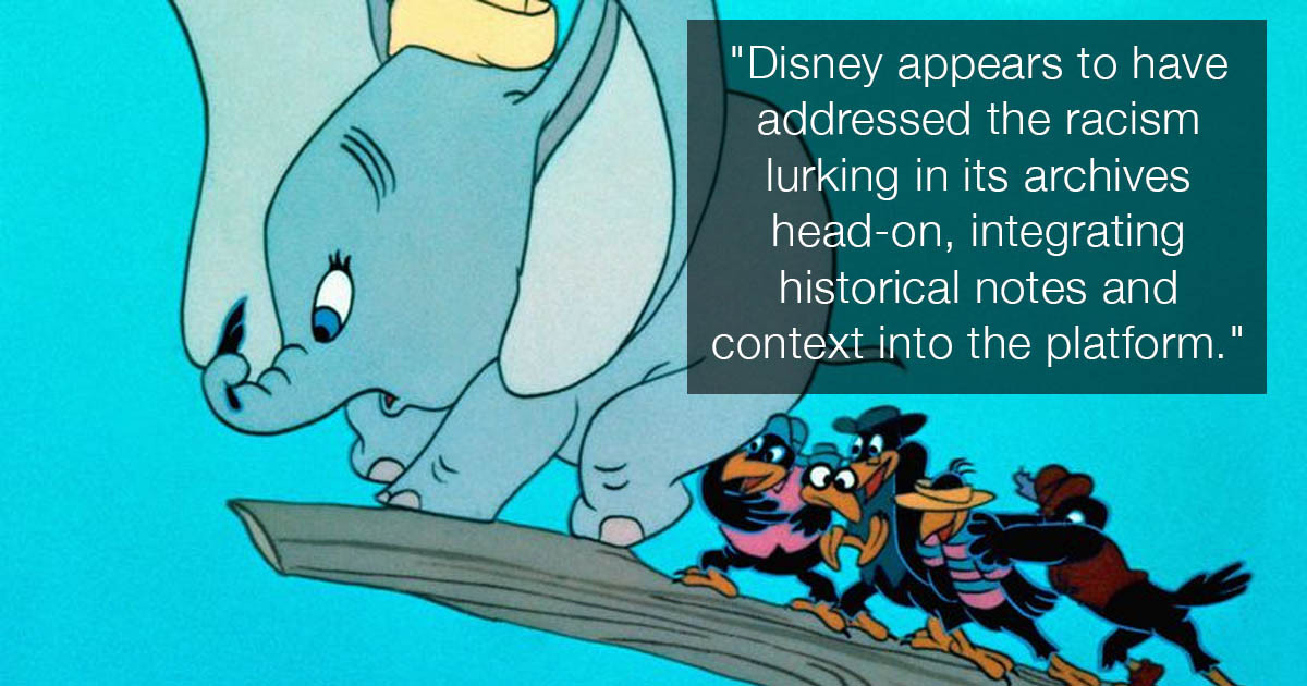 Disney+ Accidentally Reveals A Whole Lot Of Racism In The Disney Vault