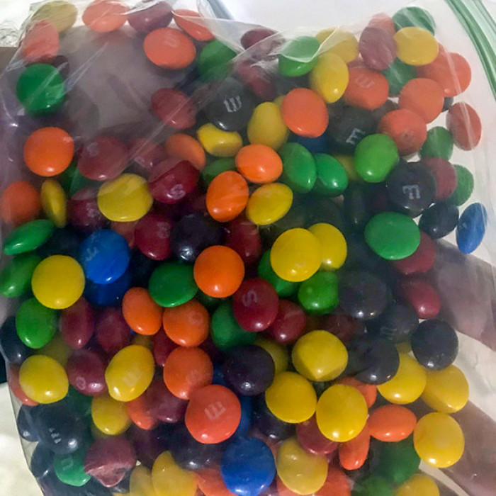 #24 My Wife Thinks It Is OK To Mix M&M's With Skittles
