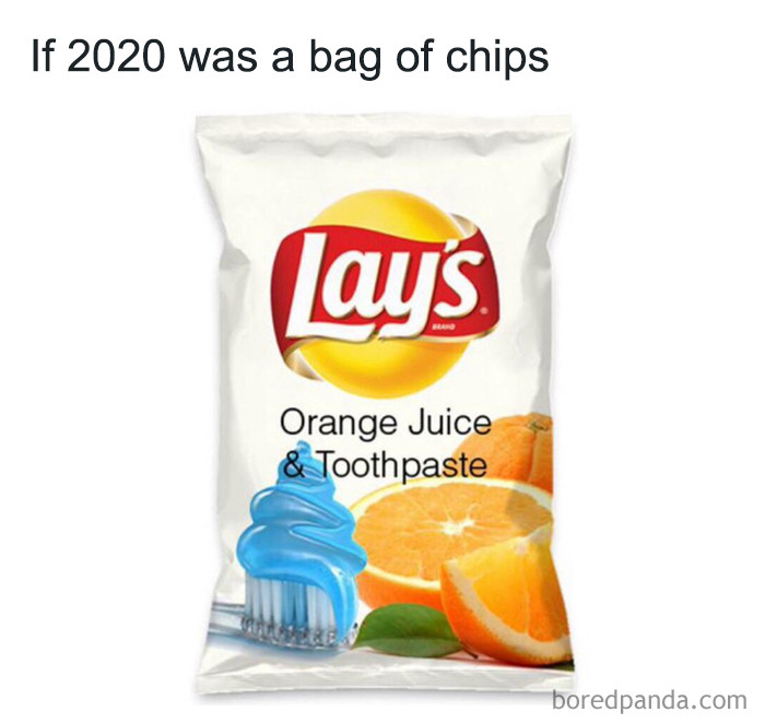 ... a bag of chips