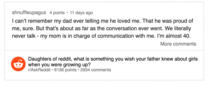 :( Communicate!