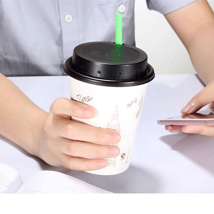 17.  Coffee cup lid