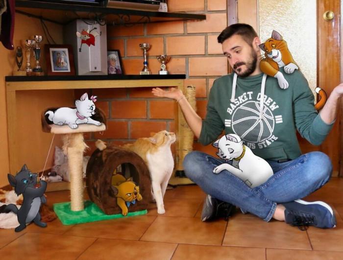 20. Pets on pets!