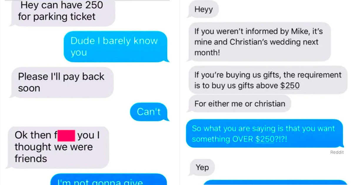 These Rude People Tried To Get Stuff Without Paying For It And It Severely Backfired