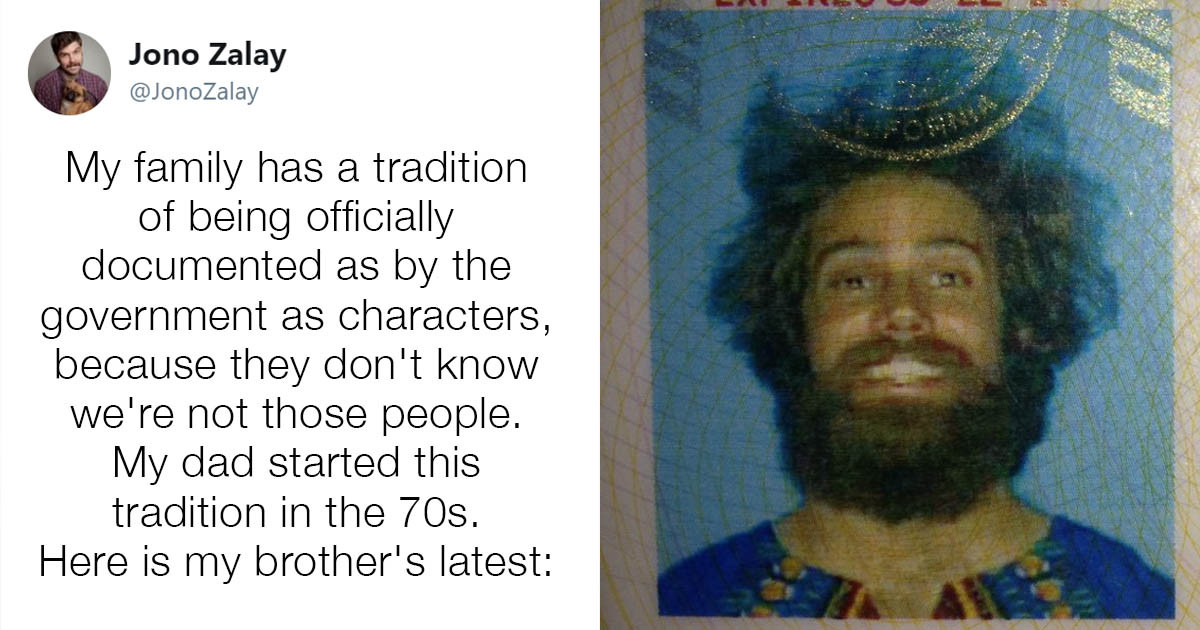 Man Puts On a Different Disguise Every Time He Has To Take a New DMV Photo