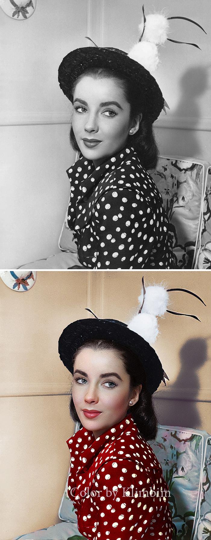 #16 Elizabeth Taylor