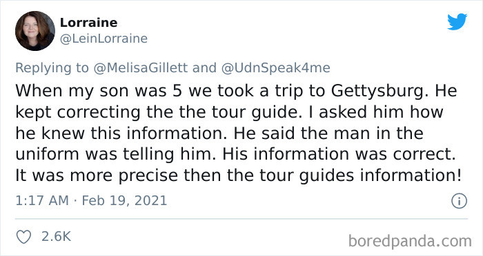 5. Correcting the tour guide