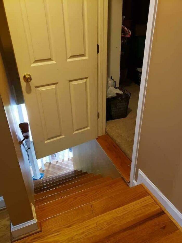... a door