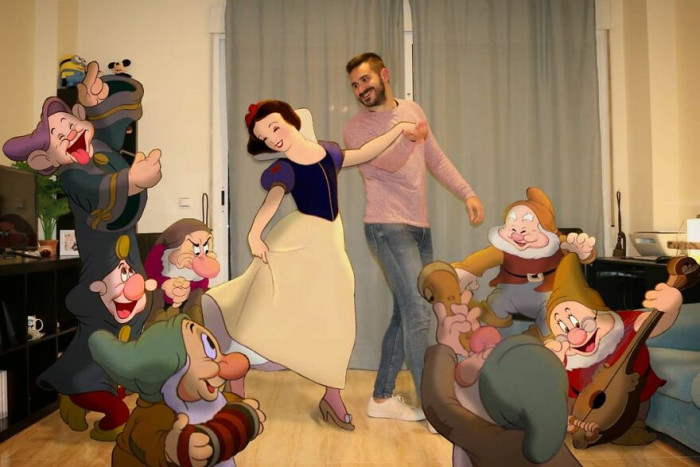 28. House full of dwarfs!