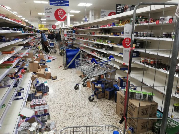 26. My husband once worked for a supermarket, this makes my head, my arms, and my heart hurt.