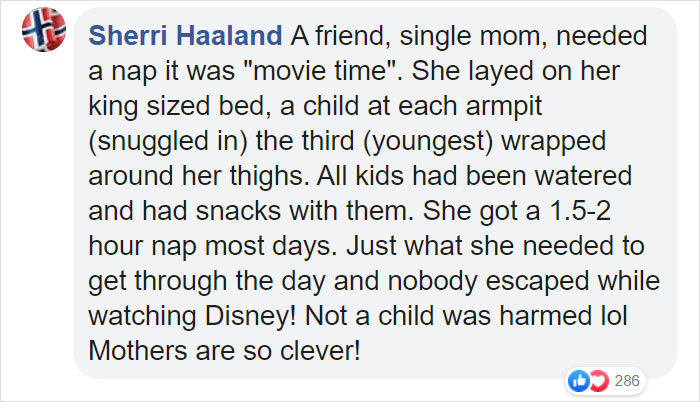 Parents also shared the clever ways they came up so they can get the nap they needed