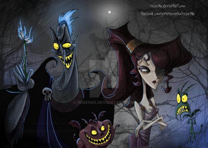 10. Hades & Megara / Hercules