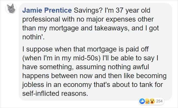 Savings? SAVINGS?