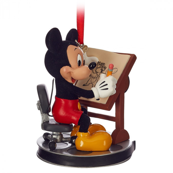 Mickey Mouse Animator Sketchbook Ornament for $16.95
