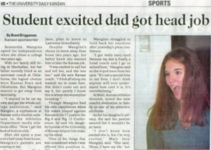 8. All news outlets should hire someone specially to test for innuendo