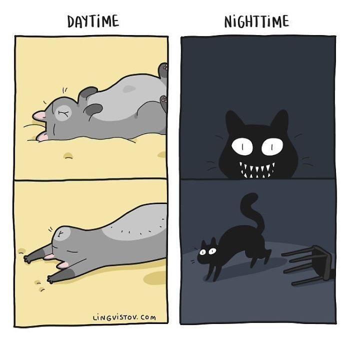 8. Things that go bump in the night