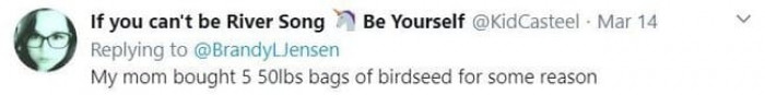 18. How many birds do you have?