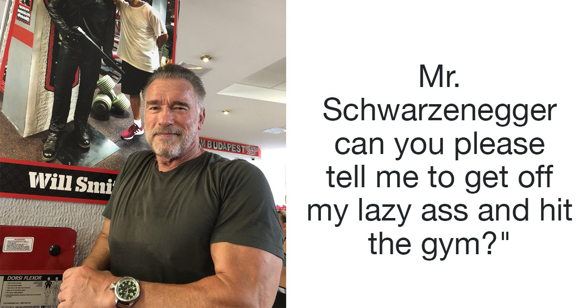 Arnold Schwarzenegger Is An Absolute Hero For Helping A Depressed Reddit User