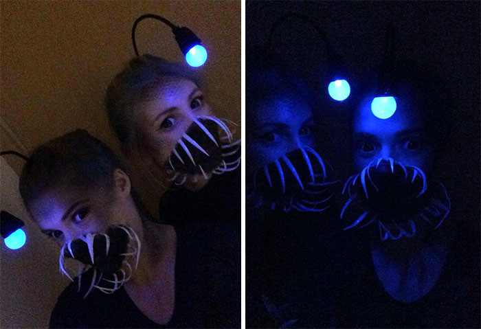 #17 Just In Time For Halloween, Anglerfish Costumes