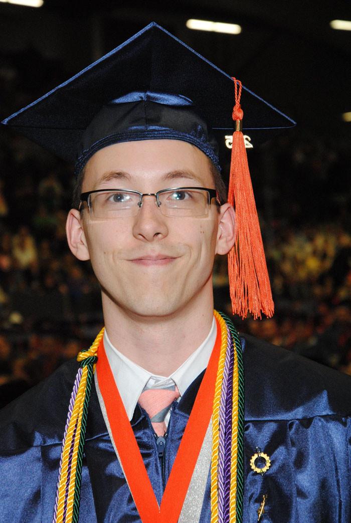 Jon's second college graduation.
