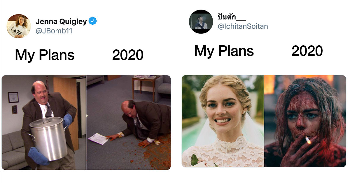 """These """"My Plans vs. 2020"""" Memes Pretty Much Sum Up How We All Feel Right Now"""