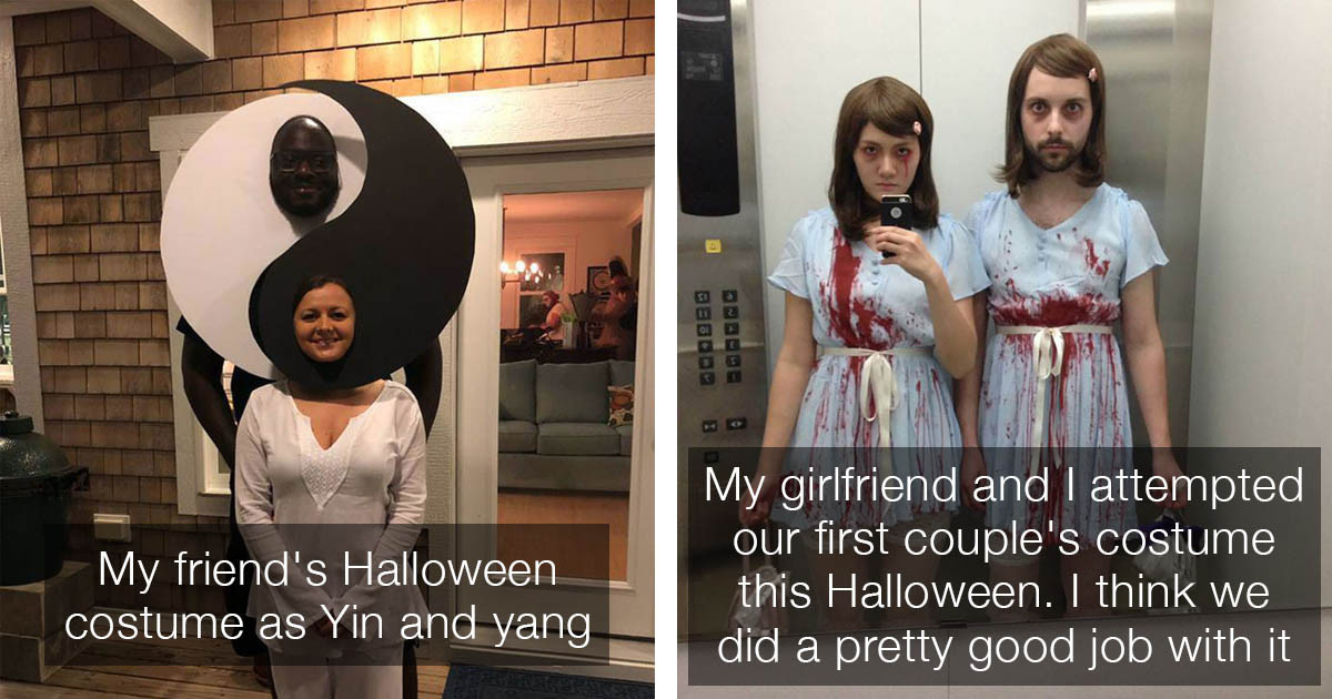 Couples That Are Absolutely Killing It With Their Amazing Halloween Costumes