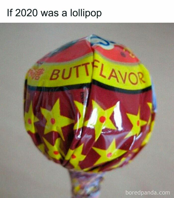 ... a lollipop
