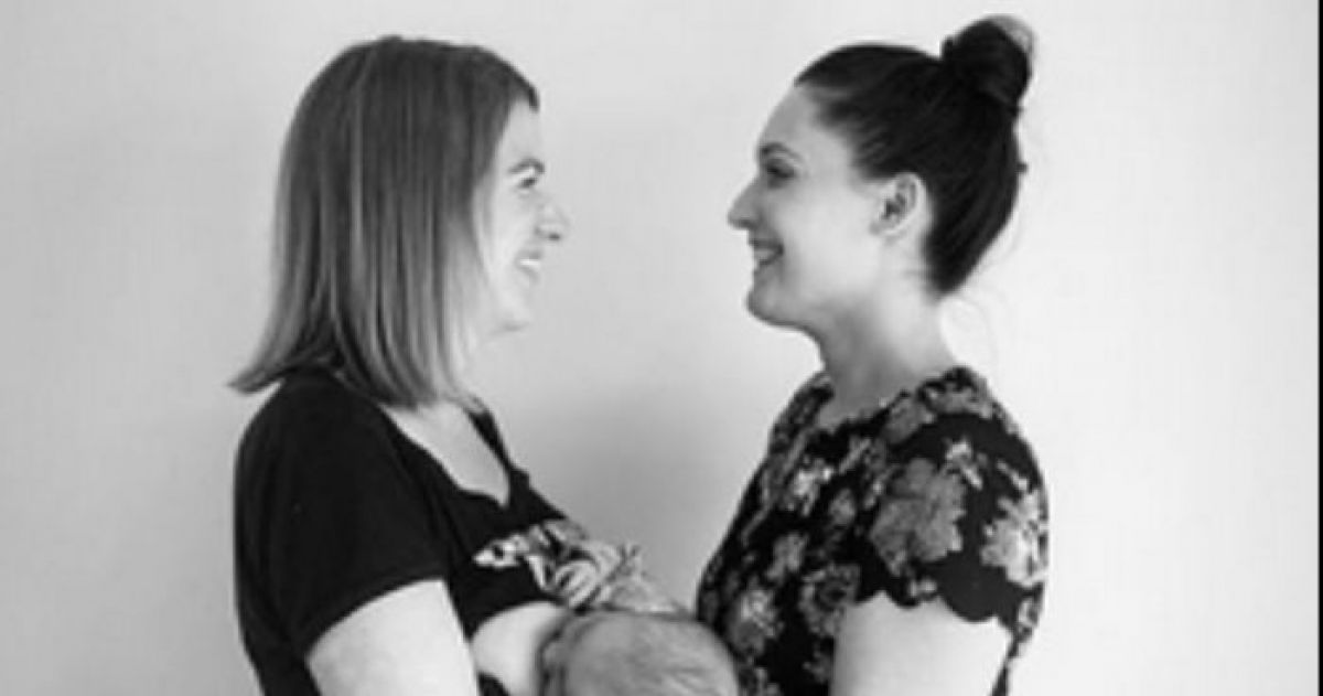 When This Lesbian Couple BOTH Breastfed Their Baby People Freaked Out