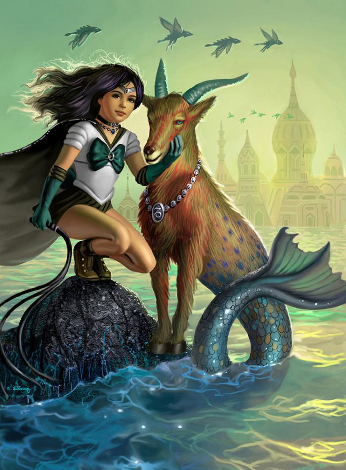 2. Sailor Capricorn