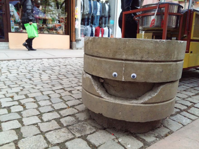 4. Finally, here's a happy face.