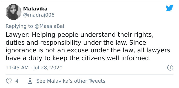Helping people understand their rights...