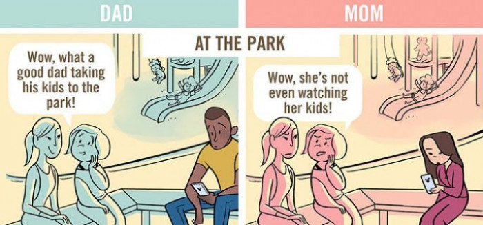 4. At the park
