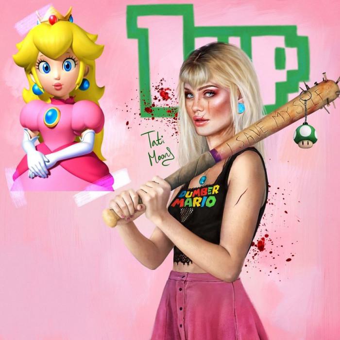 15. Princess Peach From Super Mario
