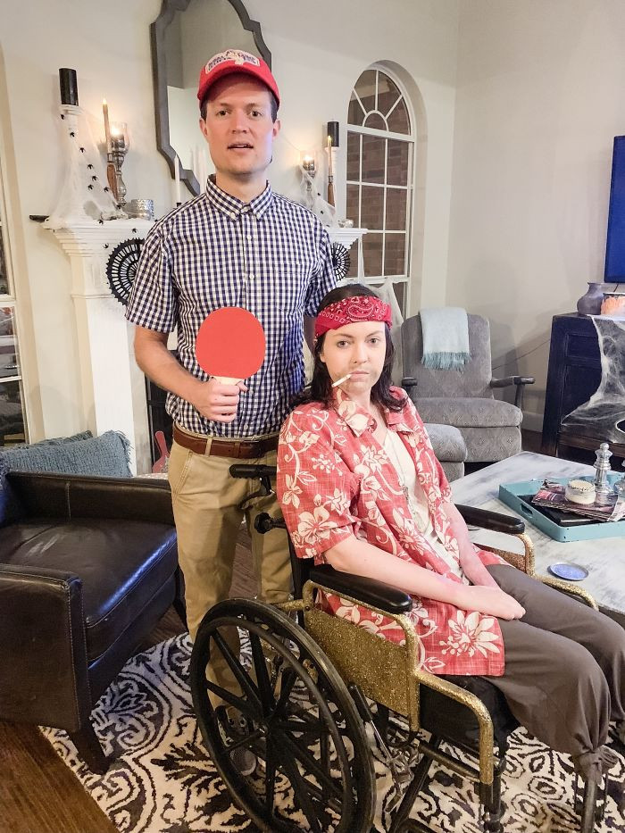 #38 My First Halloween As A Double Below The Knee Amputee. Forrest Gump And Lieutenant Dan