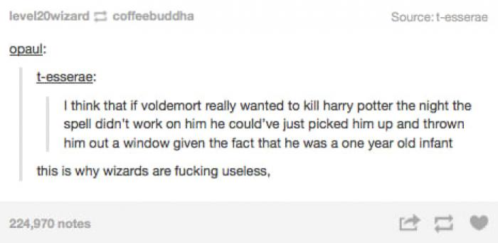 Are wizards useless?