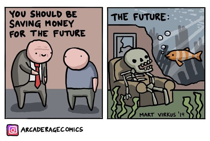 17. There is no future