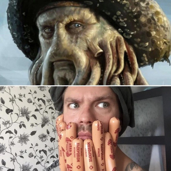 29. Davy Jones from Pirates of the Carribean